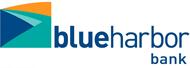 Logos for blueharbor bank