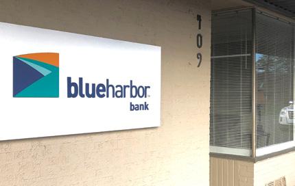 Belmont loan production office entrance